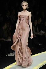 Versace Runway Pink  Evening Gown Fall/Winter 2008 Size 40IT