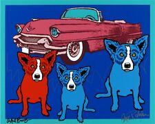 """Blue Dog George Rodrigue    """"Devil In Me""""     MAKE  OFFER   BA DSS"""