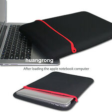 Black Sleeve Carry Case Bag Cover for 13 inch Macbook Pro/Air 13 Notebook Laptop