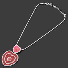 Heart Acrylic Alloy Costume Necklaces & Pendants