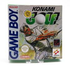 GameBoy | Konami Golf OVP CIB | Nintendo Game Boy GB Spiel
