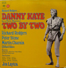 "DANNY KAYE ""Two by Two"" Columbia - S 30338 Orig. Cast NM Vinyl"