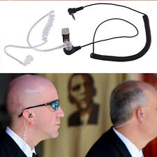 3.5mm Covert Acoustic Tube Earpiece Earphone Headset 1 PIN for Motorola Radio