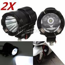 Pair 12V DC 30W 1200LM Motorcycle Car Boat U3 LED Light Spot Fog Lamp Headlight