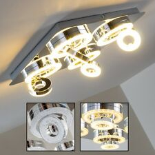 Plafonnier LED Lustre Design Lampe de corridor Lampe à suspension Chrome 143391