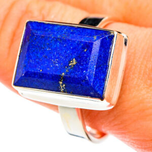 Lapis Lazuli 925 Sterling Silver Ring Size 12 Ana Co Jewelry R76421F