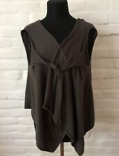 RICK OWENS Creatch S/S08 Women's Cardigan Long Sleeve Size L Made In Italy!