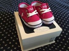 Ralph Lauren Pram Baby Shoes with Laces