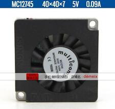Original MULTICOMP Notebook blower MC12745 5V 0.09A 2 months warranty
