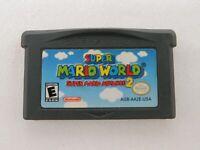 Super Mario World: Super Mario Advance 2 (Game Boy Advance, 2002) *Authentic*