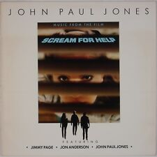 SCREAM FOR HELP: John Paul Jones, Jimmy Page SOUNDTRACK Horror OST LP NM-