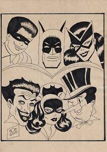 Bob Kane Batman Collection Signed & COA