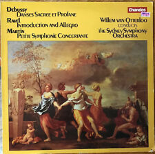 Debussy Ravel Martin Otterloo Sydney VG+ LP Chandos Import ABR 1060