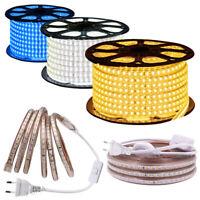 Hell 3014 LED Licht Streifen Lichterkette Stripe Band Wasserdicht IP67 220V 230V