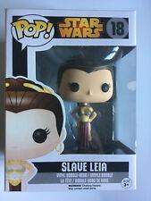 Esclava Leia (18) Funko Pop Star Wars Black Box De Vinilo! abovedado Regreso del Jedi