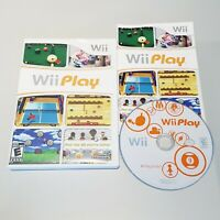 Wii Play (Nintendo Wii, 2007) - Complete