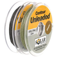 Solar Tackle Contour Unleaded *ALL SIZES & COLOURS*  FREE POST