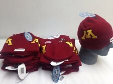 Lot Of 24 Minnesota Gophers Football Helmet Winter Hat Beanie Horns Ncaa