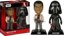 Star Wars Episode VII - Finn and Kylo Ren Wacky Wobbler Bobble Head 2 Pack
