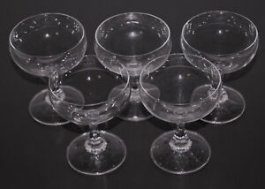5 Likör Sekt Cocktail Schalen SCHOTT Zwiesel Neckar 100 ml 0,1 L 10,5 cm ∅ 8 cm