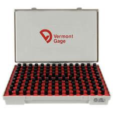 Vermont Gage 901200600 Black Ox Coated Pin Gauge Setdim Type