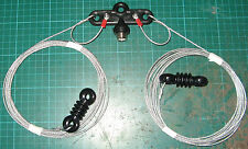 MONO BAND DIPOLE FOR 20 METERS Wire Antenna / Aerial for icom kenwood yaesu