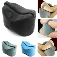 Memory Foam Knee Leg Pillow Orthopedic Firm Back Hip Support Pain Relief Cushion