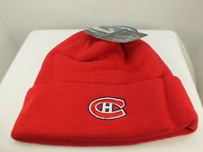 Montréal Canadiens NHL Cuffed Knit Stocking Winter Beanie Hat Cap NEW Zephyr