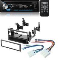 PIONEER DEH-S4000BT CD MP3 USB 13 BAND EQ SPOTIFY RADIO CAR STEREO DASH KIT
