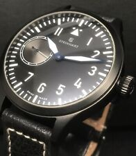 Steinhart Nav-B Premium ST-1 Caliber 47mm Swiss Decorated Movement Black DLC