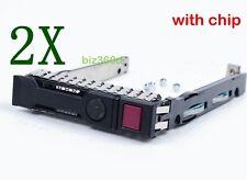 """2.5"""" for HP PROLIANT G8 651687-001 SFF SAS SATA HDD Tray Caddy 653955 Dl380p G9"""