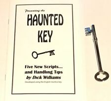 THE GHOST KEY + BOOKLET SET Haunted Hand Skeleton Close Up Spirit Spooky Book
