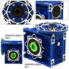 NMRV050 Schneckengetriebe mit Übersetzungsverhältnis 60:1 100:1 1400 U/min 80B14