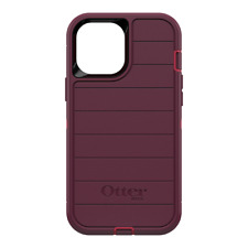 OtterBox - Defender Pro Case for Apple iPhone 12 Pro Max - Berry Potion