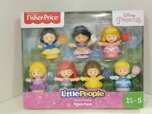 Fisher Price Little people Disney Princesses figure pack of 7