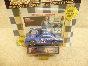 1991 Racing Champions 1:64 NASCAR Sterling Marlin Maxwell House Thunderbird b
