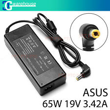 Premium 19V 3.42A 65W ADAPTER FOR ASUS LAPTOP CHARGER POWER SUPPLY + Lead Cord