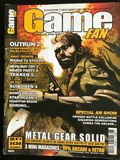 GAME FAN n°4 de 2004; PLay 2, XBOX, Game Cube, GBA, RPG, Arcade, Rétro