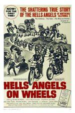 Hells Angels On Wheels Movie Poster 24inx36in