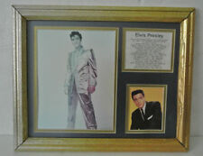 """Framed ELVIS PRESLEY 16""""x13"""" Wall Picture Photographs #1 Single List VERY RARE"""