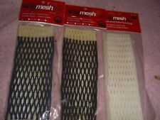 Ninja Mesh Lacrosse Replacement Netting 3 Various Pieces