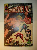 Daredevil #12 FN+, 1966, Ka-Zar app., Jack Kirby art, Silver Age, BV=54