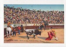 Corrida de Toros Suerte de Capa Spain Vintage Postcard 466a