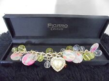 Watch By Figaro Couture Bracelet Statement Artsy Boutique New