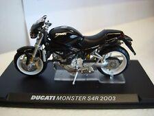 Ducati Monster 900 S 4 R 2003 schwarz   - 1:24  TOPMODELL
