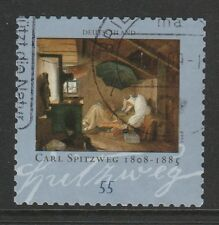 Germany 2008 Carl Spitzweg Booklet Stamp SG 3518a FU