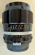 Nikon Nikkor P 105mm f/2.5 Très bon état