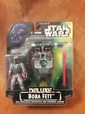 Kenner Star Wars Power of the Force DELUXE Boba Fett w/ Wing-Blast Rocketpack