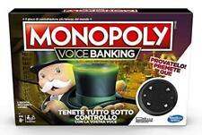 HASBRO MONOPOLY VOICE BANKING NUOVO ORIGINALE SIGILLATO