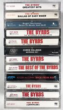 12x THE BYRDS Cassette Tape Lot: Rare Mr. Tambourine Man Sweetheart Of The Rodeo